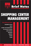 Finance for Shopping Center Nonfinancial Professionals